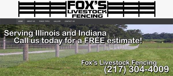 Foxs Livestock Fencing