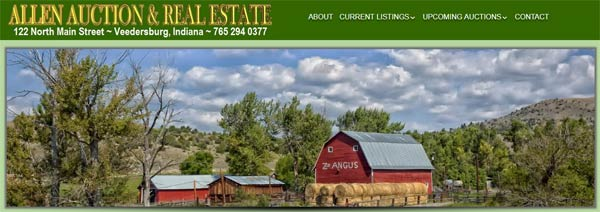 Allen Auction And Real Estate Veedersburg Indiana