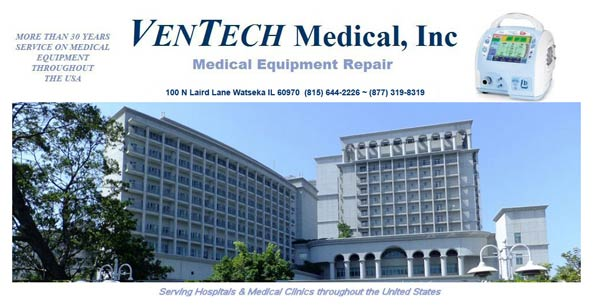 Ventech Medical Inc Medical Respiratory